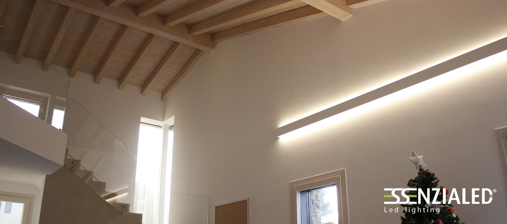 Righello Lampada a parete Led prodotta su misura