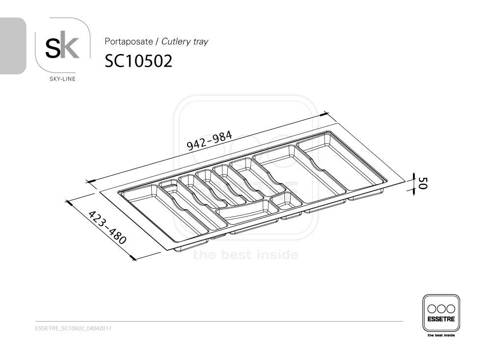 SC10502  Essetre Spa