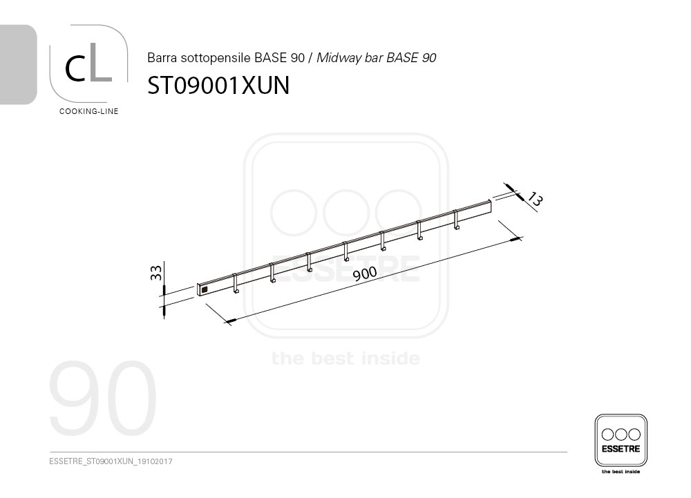 ST09001XUN  Essetre Spa