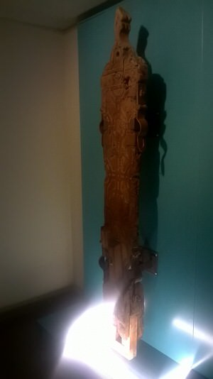 Epping Forest District Museum - the whipping post!