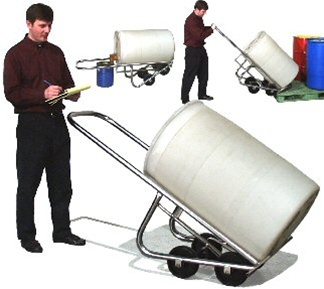 Stainless Steel Drum Truck Model 160SS from Essex Drum