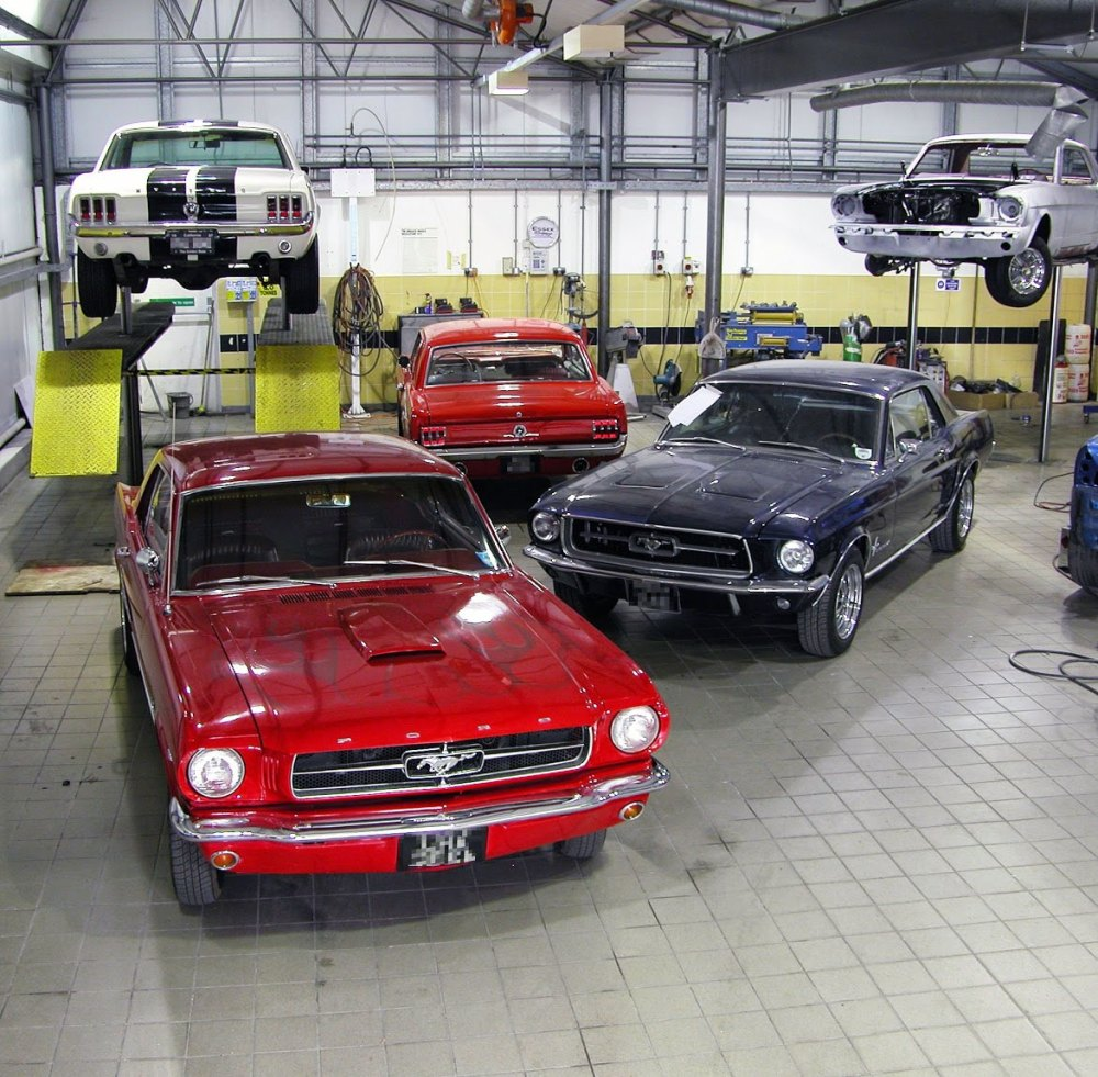 medium resolution of a few of the ford mustangs we restore in our workshop