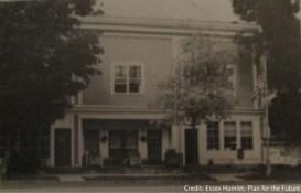 Van Ornam Building, Essex, NY (Image Credit: Essex Hamlet: Plan for the Future. Aug. 1989. 7)