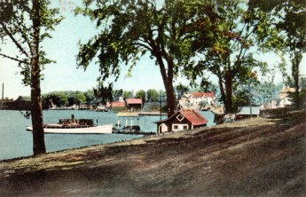 Rosslyn Bathhouse and Boat House