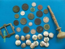 A collection of items he found at one property in Essex.