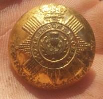 Berwickshire LM (Local Militia) Button - From Scotland