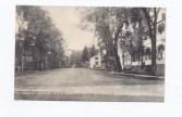"Vintage postcard entitled: ""Main St. Looking South, Essex, NY."" circs 1940s"