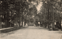 """""""Main St. Looking North, Essex, NY"""""""