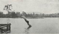 Swimming at Kent Boys Camp (Credit: 1913 Kent Camp Brochure)