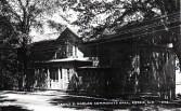 Vintage Postcard of James S. Harlan Community Hall, Essex, NY