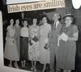 5 Irish girls with Dad & Mummy at Barbara's high school graduation 1954