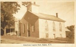 Old Stone Church: American Legion Hall (Courtesy Todd Goff)
