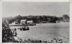 Essex Bay with Ferry & Old Dock (Credit: Unknown; Shared by Susie Drinkwine)
