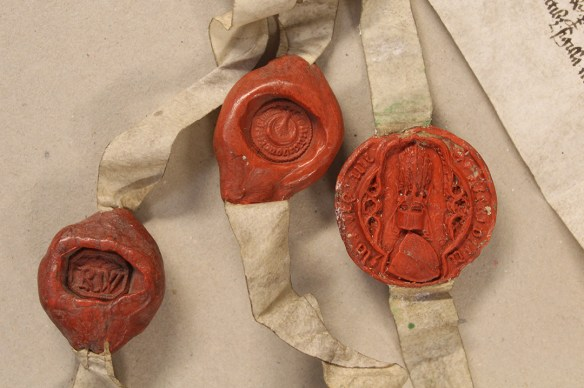 Seals of Richard de Waldegrave
