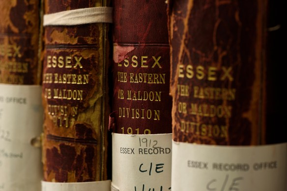 There are some 850 volumes in our collection of Essex electoral registers