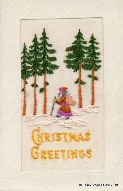 Christmas Greetings From The Trenches 1914 1918 Essex