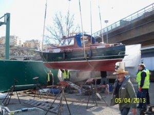 Sjösättning 20130504