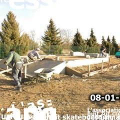Construction pyramide skatepark wittenheim