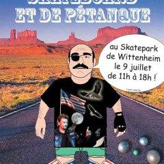 Contest «Skate & Pétanque» à Wittenheim (2011)