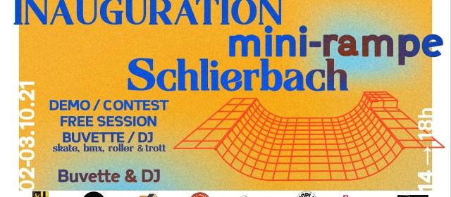 Inauguration mini-rampe Schlierbach