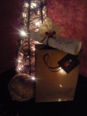 Coffret cadeau personnalisé de Noël