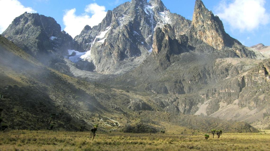 Mount Kenya Peak