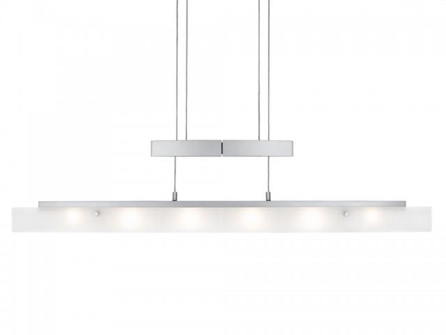 Biham Wohnzimmer Leuchte  Pendelleuchte aus Glas  dimmbar  hhenverstellbar