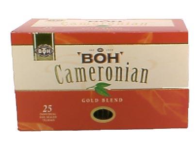 Boh tea, gold blend, tegenwoordig via het Internet verkrijgbaar (hoef je niet naar dat moslimland)
