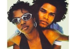 Lauryn Hill and Maxwell in an unused Vibe Magazine cover photo from 1997. The cover was shelved due to the murder of the Notorious B.I.G.