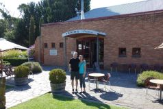 Here we are at the oldest winery in Yarra Valley: Yerin Station. The original buildings here were constructed in 1859.
