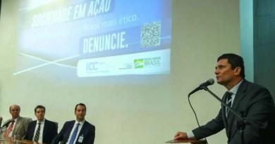 """""""Temos que fazer mais"""", diz Moro sobre combate à corrupção no país"""