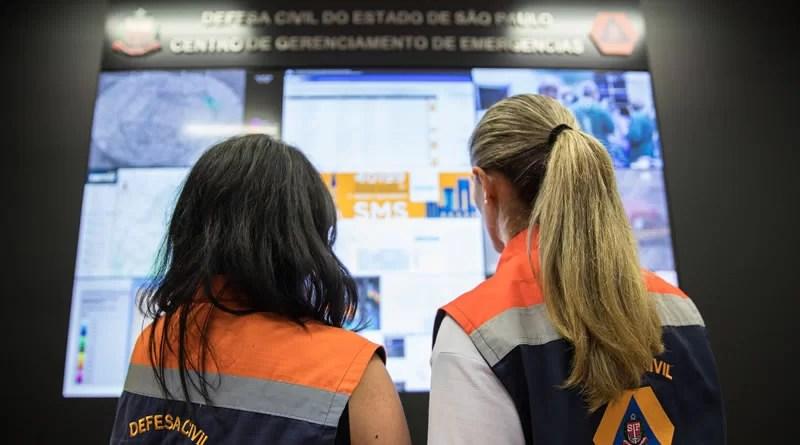 Defesa Civil de SP alerta para risco meteorológico em todo o Estado