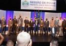 Vereadores, prefeito e vice de Mongaguá tomam posse em evento realizado no primeiro dia de 2021