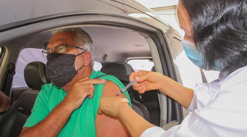 Governo de São Paulo anuncia vacinação contra COVID-19 para idosos de 65 a 67 anos em abril