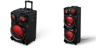 Philips lança caixas de som Bluetooth X3305 e X3705