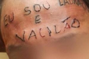 MP denuncia dupla que tatuou testa de adolescente e exclui tortura
