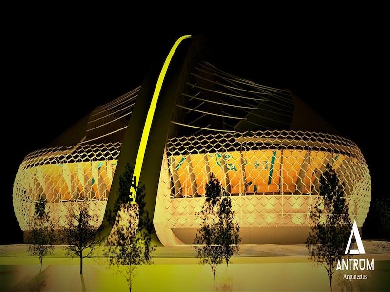 Checa la propuesta para el nuevo estadio de Tigres  Estadio Deportes