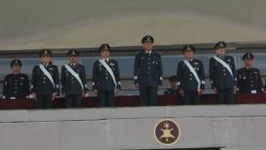 Generales en situación de retiro. Foto: Sedena