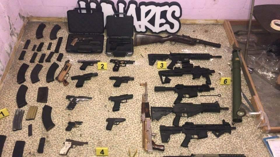 Golpe de la Marina a la Unión de Tepito; drogas, armas y 31 detenidos