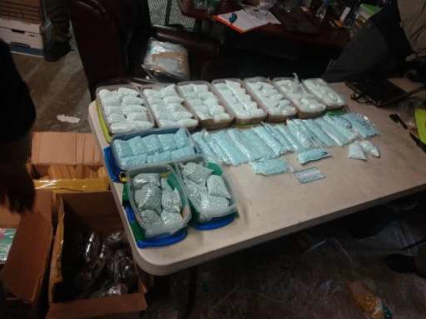 Ejército Mexicano asegura posible droga en Tijuana, B.C.