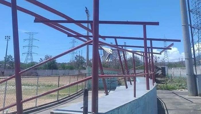 Delincuencia aprovecha la cuarentena para acabar con instalaciones deportivas