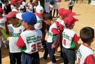 Las escuelas de beisbol cuentan con el respaldo del gobernador Alfredo Díaz