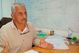 El presidente del Instituto de Deportes, Aníbal Layo Cedeño.
