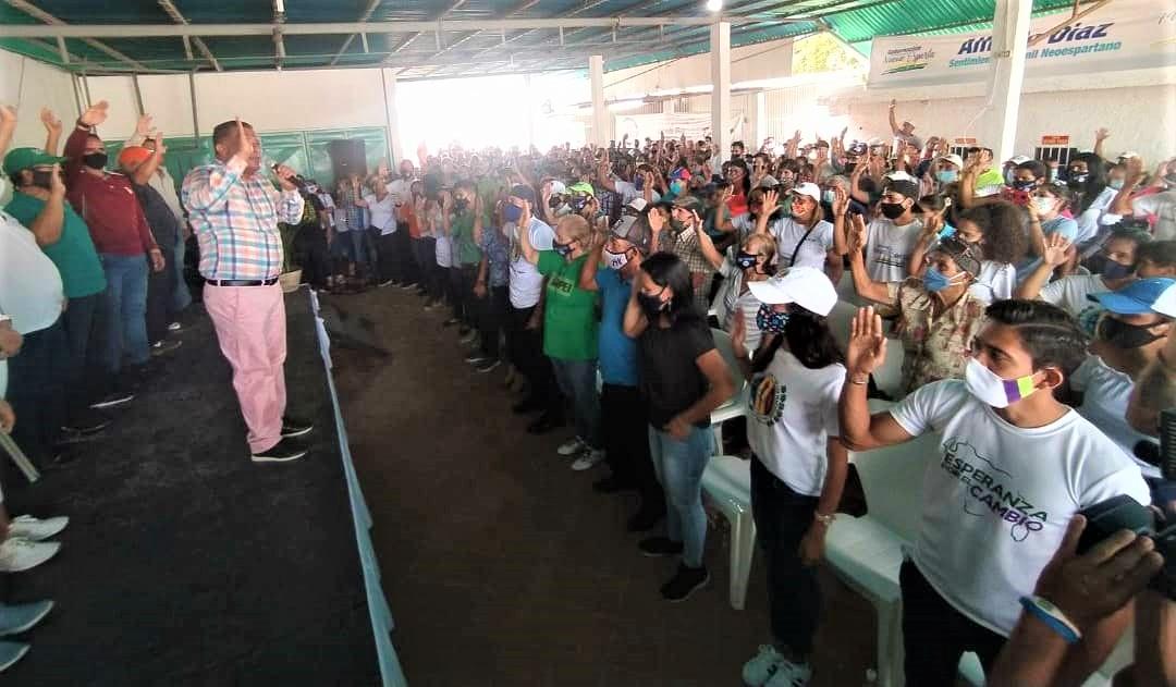 El mandatario Alfredo Díaz esbozó logros para el municipio Gómez en el año 2020