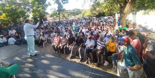 El pueblo del municipio Díaz respalda gestión del gobernador Alfredo Díaz