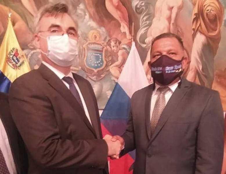 El gobernador Alfredo Díaz, se reunió con el Embajador de la Federación Rusa en nuestro país