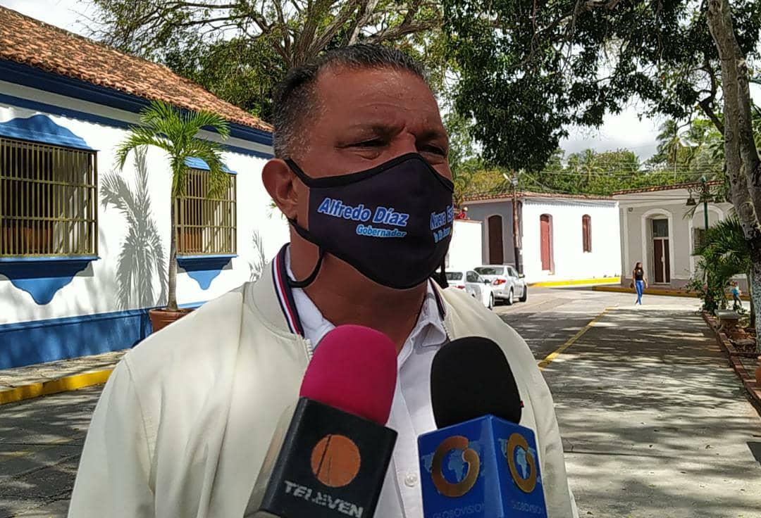 El gobernador Alfredo Díaz exige soluciones definitivas al problema del agua en las islas de Margarita y Coche