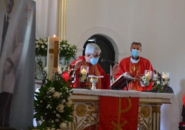 Misa Solemne oficiada por Mons. Fernando Castro Aguayo Obispo de la Diócesis de Margarita