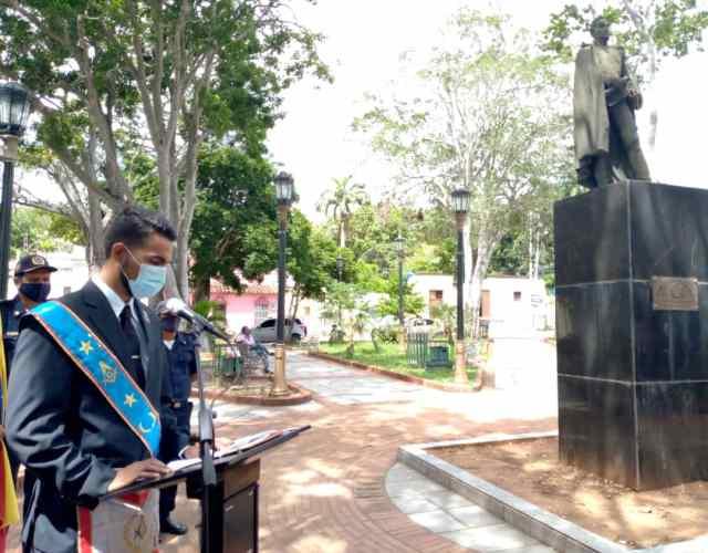 Abogado Francisco Rodríguez Gómez, orador de orden del acto central de los 210 años de la conmemoración de la Independencia de Venezuela