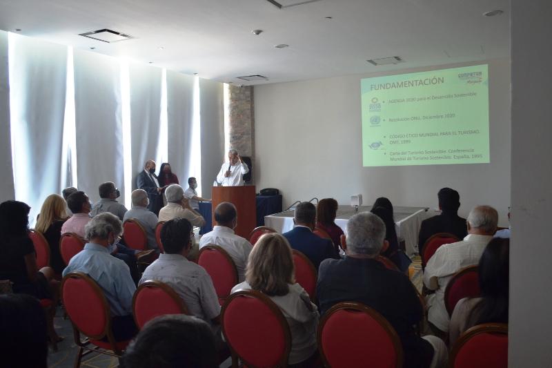 En el acto se presentó el catálogo digital del turismo.